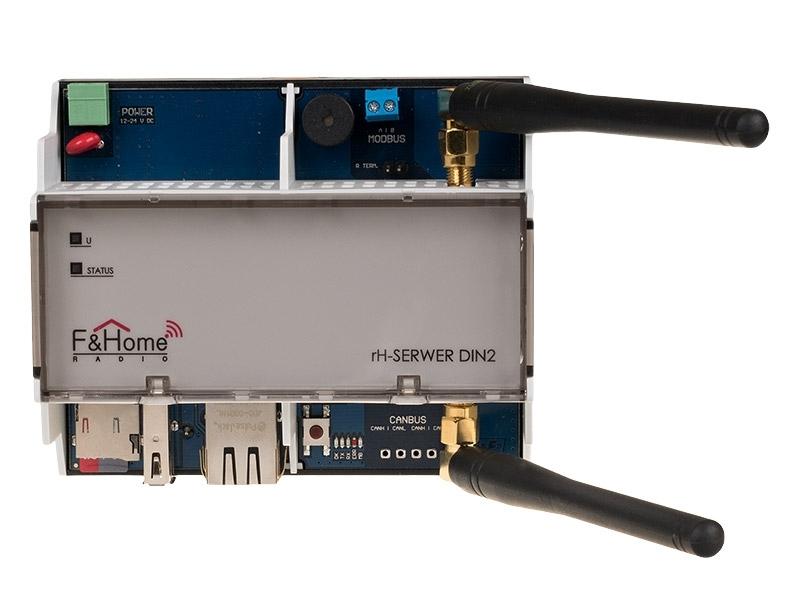 Сервер системы на DIN-рейку