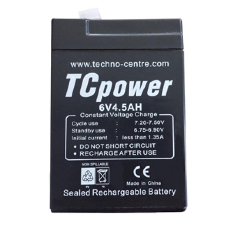 аккумулятор tc 6-4,5