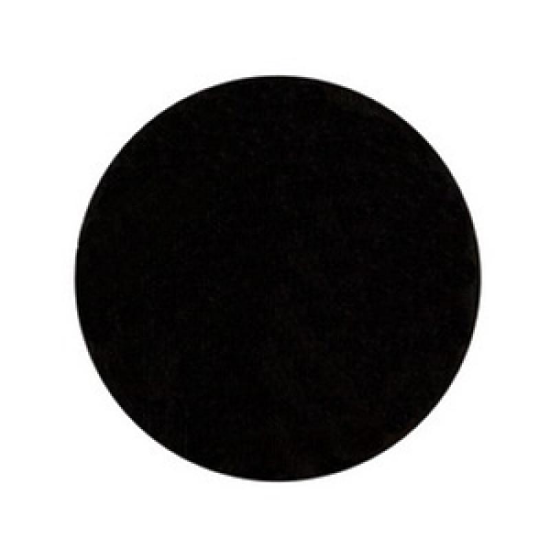 этикетка противокражная (рч) d40 черная круглая