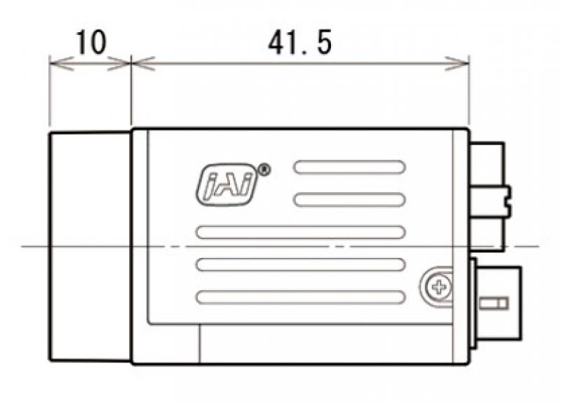 Габариты JAI GO-2401M