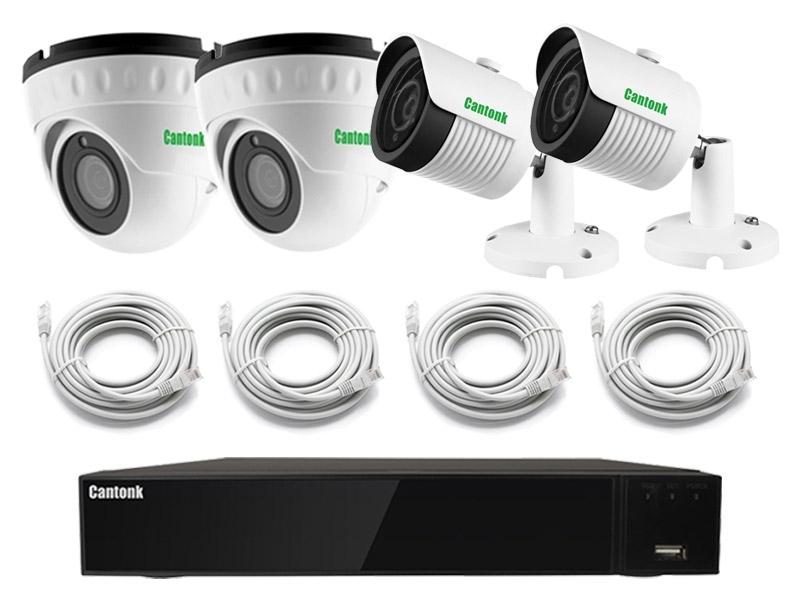 Готовый набор видеонаблюдения Pro Combo