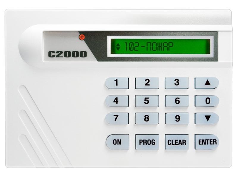 Клавиатура с ЖК-индикатором С2000-К