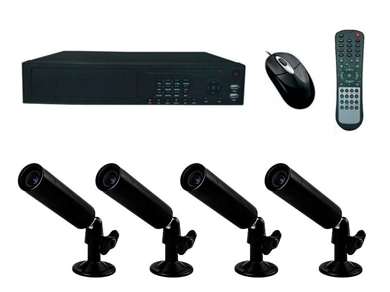 Комплект аналогового видеонаблюдения №1