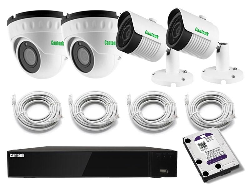"""Комплект IP видеонаблюдения """"Pro Combo"""""""
