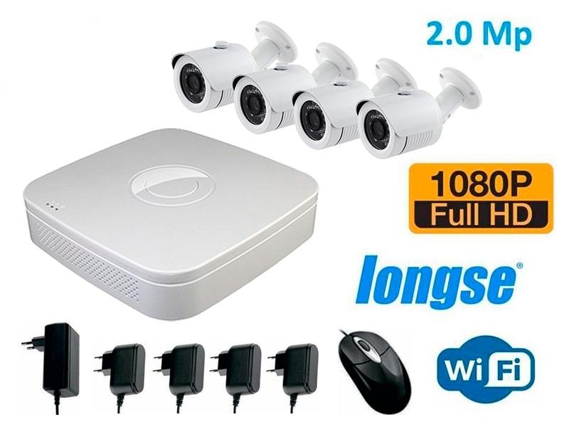 Комплект видеонаблюдения WiFi Longse