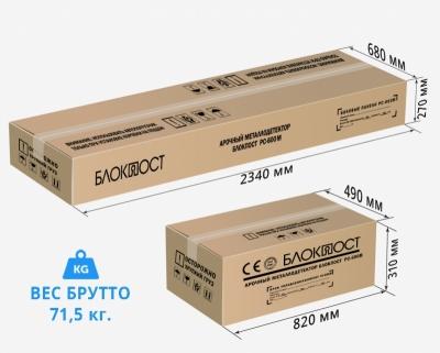 арочный металлодетектор блокпост pc-600м