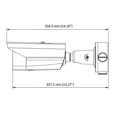 Габариты DS-2TD2617B3