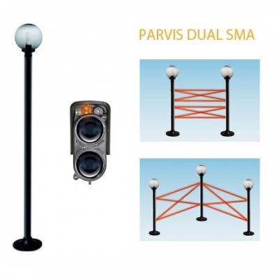 Parvis DUAL SMA 412
