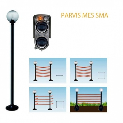 Parvis MES SMA 9160