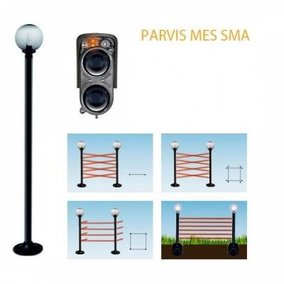 Parvis MES SMA 9160