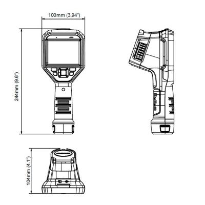 Размеры термографа Hikvision