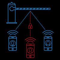 GSM шлагбаум круг доверенных лиц